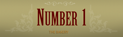 Number 1 the bakery Logo